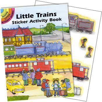 Train Sticker Book (each) - Party Supplies (Train Stickers)