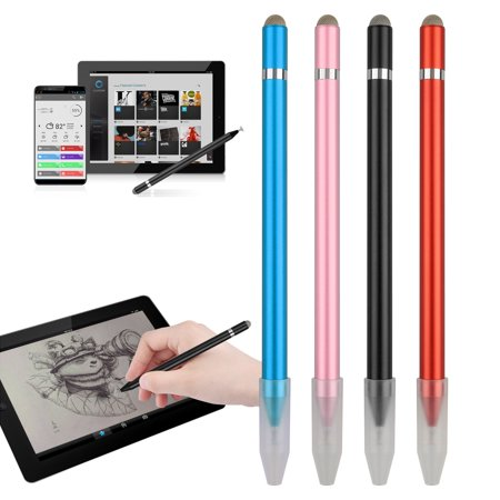 EEEKit Capacitive Stylus Pens for iPad, iPhone and Other Touch Screens, 2in1 Series Fine Point Disc Tip & Mesh Tip Universal Replacement Stylus Pen, 4 Colors Available