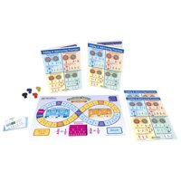 NewPath Learning Adding and Subtracting Fractions Learning Center Game, Gr. 3 to 5