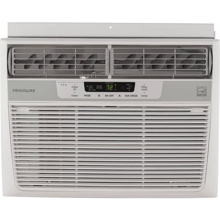Frigidaire FFRE1033S1 10,000 BTU 115V Window-Mounted Compact Air Conditioner with Temperature Sensing Remote Control (Window Mounted Air Conditioner)