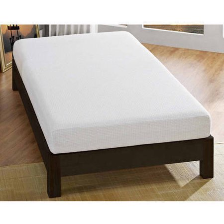 """Signature Sleep Gold Inspire 6"""" Memory Foam Mattress Set, with CertiPUR-US certified foam with Signature Sleep Adjustable Bed Frame, Multiple Sizes"""