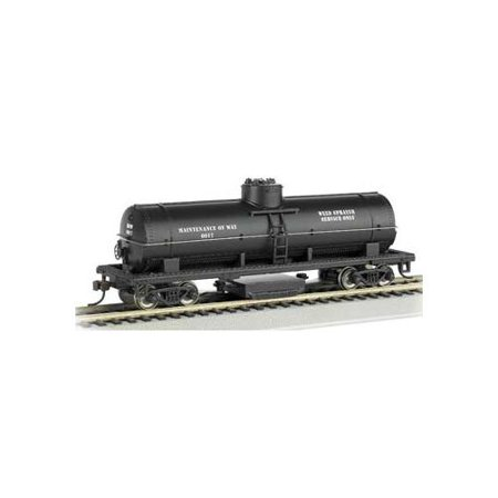 16301 Track Cleaning Tank Car MOW HO Multi-Colored
