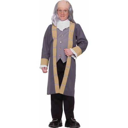 Ben Franklin Child Halloween Costume - Halloween Costumes Franklin Tennessee