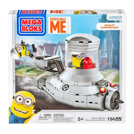 Mega Bloks Despicable Me Minion Made, Minion Mobile (Mega Mobile)