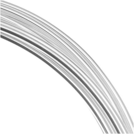 Silver Plated Copper German Bead Wire Craft Wire 26 Gauge/.4mm (20 Meters / 65.6 Feet)