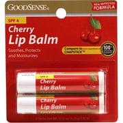 Good Sense Cherry Lip Balm with SPF-4 Twin Pack, 13.3 oz - Case of 48
