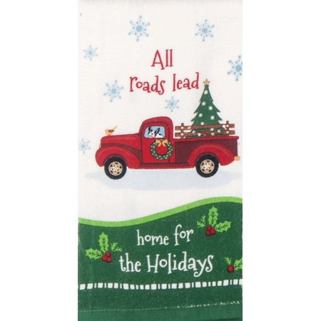 All Roads Lead Home For The Holidays Old Pick Up Truck