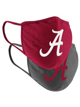 Alabama Crimson Tide Colosseum Adult Logo Face Covering 2-Pack
