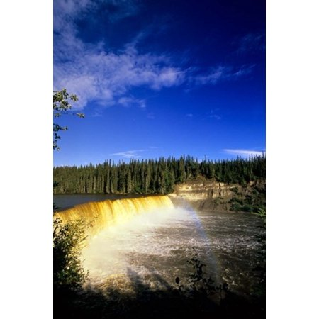 Lady Evelyn Falls Territorial Park Poster Print By Michael Defreitas