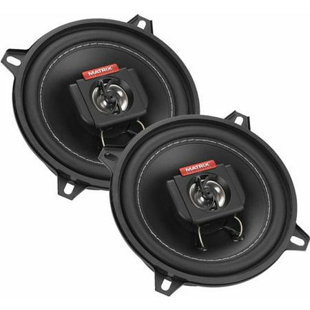 "Matrix Mobilesound 5.25"" 2-Way Speakers, 250W"