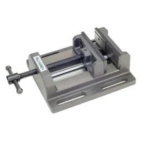 PALMGREN 9612601 Drill Press Vise,Low Profile,6in Jaw W.