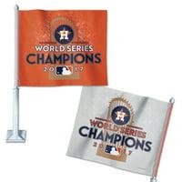 Houston Astros WinCraft 2017 World Series Champions On Field Celebration Car Flag - No Size