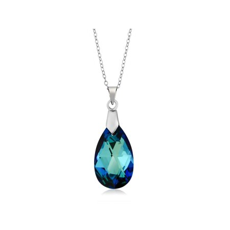 Swarovski Crystal Star Pendant (Collection Bermuda Blue Pendant 18