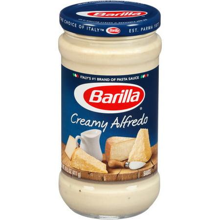 (3 Pack) Barilla® Creamy Alfredo Pasta Sauce, 14.5 oz Jar
