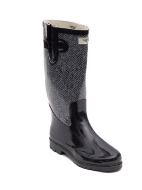 c8a20020e Product Image Women Rubber Rain Boots with Cotton Lining