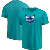 Men's Majestic Teal Charlotte Hornets Victory Century T-Shirt