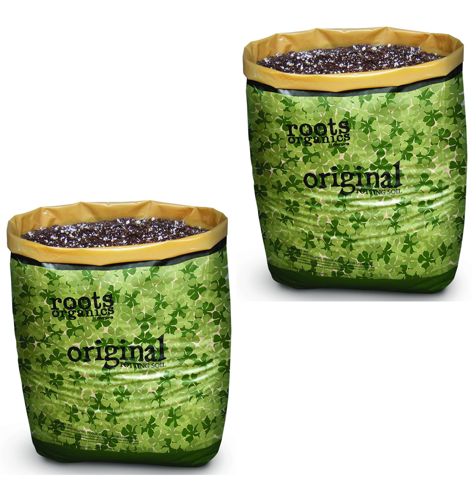 (2) Roots Organics Gardening Coco Fiber-Based Potting Soi...