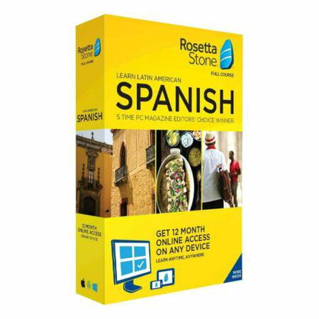 Rosetta Stone Fairfield Language Technologies 12M Spanish ROS228800F113