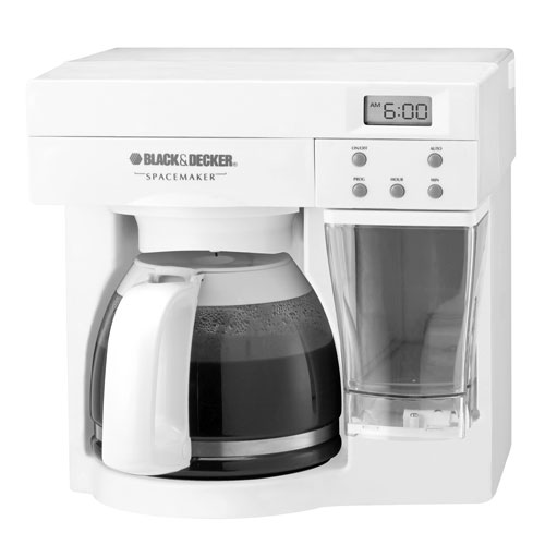 under cabinet coffee maker black amp decker spacemaker 12 cup the counter coffee 27463