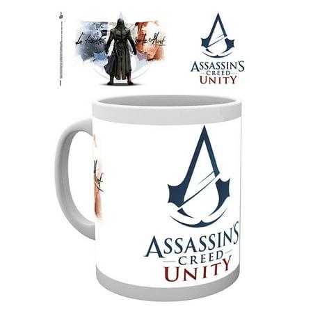 Assassin's Creed: Unity - Ceramic Coffee Mug / Cup (Logo - La Liberte)