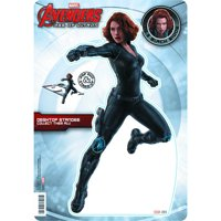 "Black Widow Desktop Standee Pop Out 10.75"" Avengers Ultron Marvel Comics"