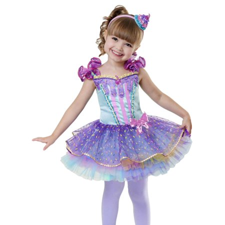 Cupcake Costumes For Babies (Toddler Girls Cupcake Cuite Costume With Dress & Headband)