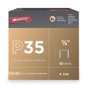 "Arrow 3/8"" P35 Staples, x3/8, 5040 Pack"