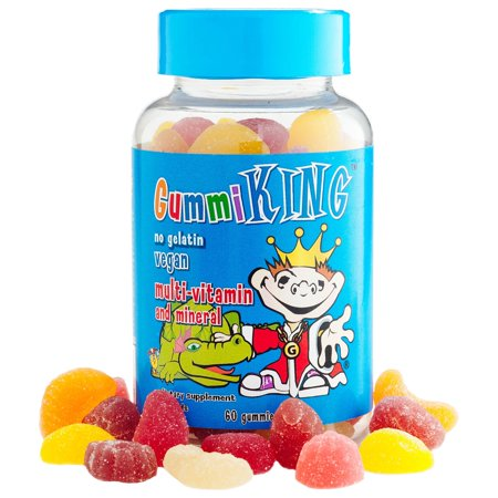 Gummi King, Multi-Vitamin & Mineral, For Kids, 60 Gummies(pack of