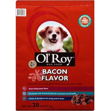 Ol' Roy Bacon Flavor Dog Food, 20 lbs