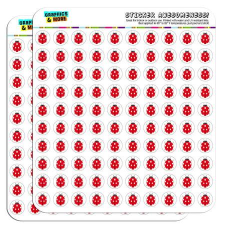 Ladybug Stickers (Ladybug Lady Bug 1/2