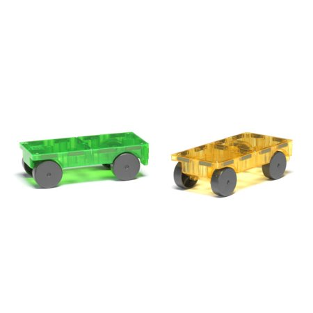 Magna Tiles Cars 2 Piece Expansion Set Walmart Com