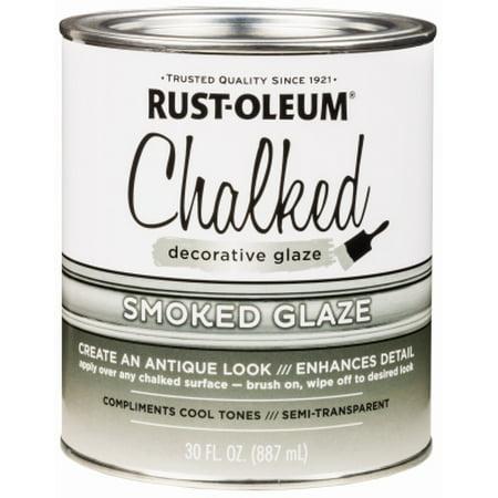 RUST-OLEUM 30OZ Smoke Glaz Topcoat 315883 (Forte Rust Glaze)