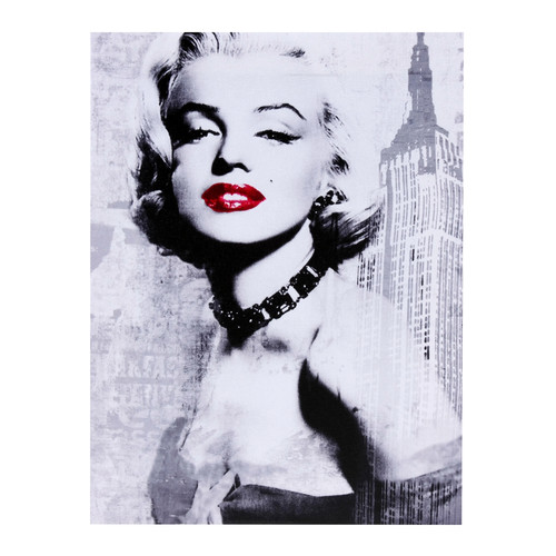 Amrita Singh Marilyn Monroe 1950 Graphic Art on Canvas