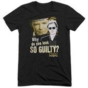 Csi Miami So Guilty Mens Tri-Blend Short Sleeve Shirt