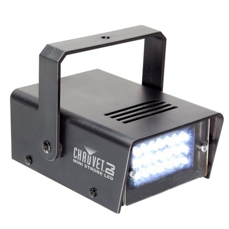 CHAUVET DJ CH730 LED Adjustable 1-12 Flash/Sec Mini Strobe Club Light Effect