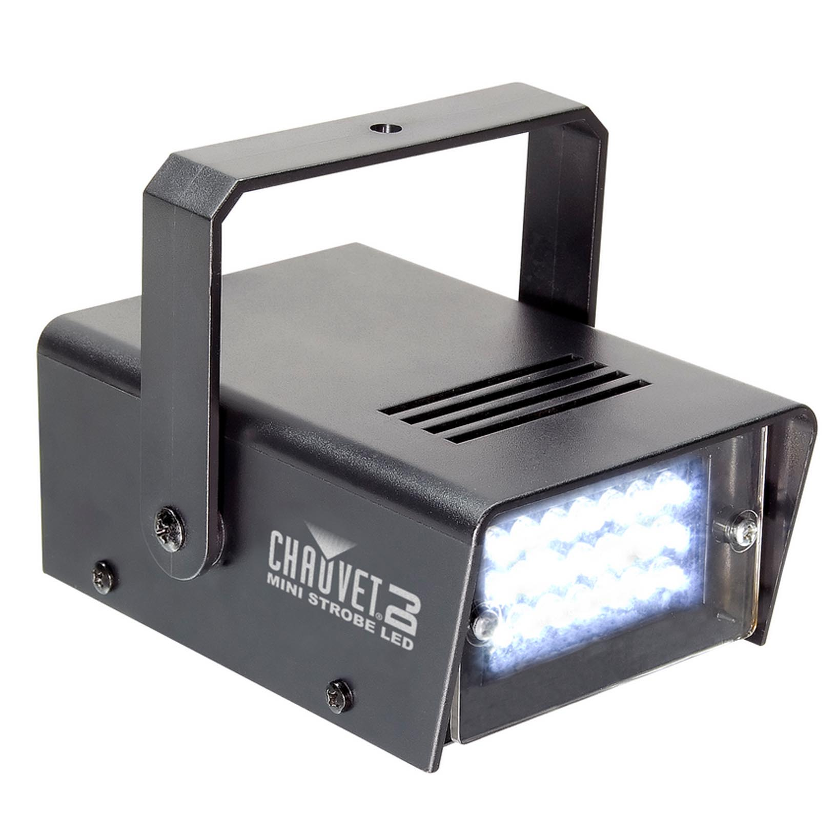 CHAUVET DJ CH730 LED Adjustable 1-12 Flash/Sec Mini Strobe Club Light Effect  sc 1 st  Walmart & CHAUVET DJ CH730 LED Adjustable 1-12 Flash/Sec Mini Strobe Club ...