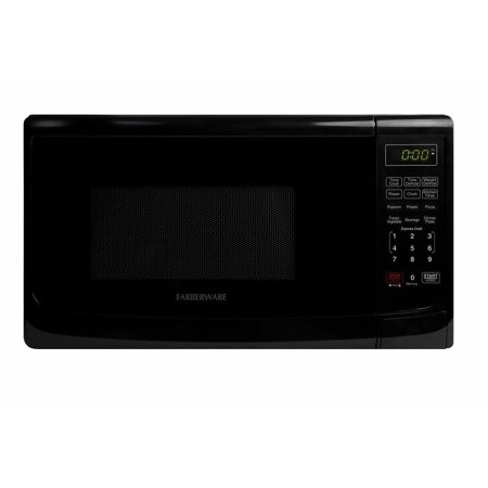 Classic Fmo07abtbka 0 7 Cubic Foot 700 Watt Microwave Oven  Black  Ship From Usa Brand Farberware