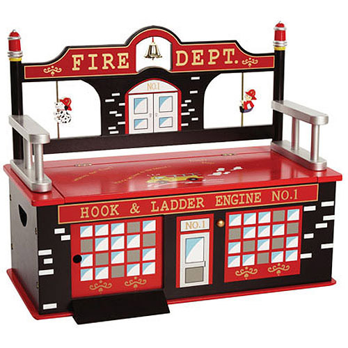 Levels of Discovery Firefighter Bench Seat with Storage