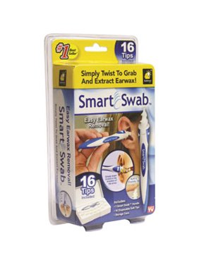 Smart Swab Ear Cleaner, Safe Ear Wax Removal Kit