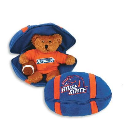 Boise State Broncos Stuffed Bear in a Ball - Football - Cool Football Stuff