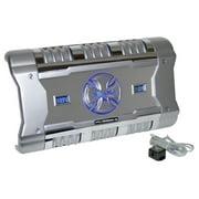 PYLE XFLSQ588X2 - 588 Watt 2 Channel Mosfet Amplifier with Digital Voltage/Amperage Display