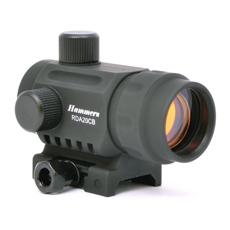 Hammers Lightweight Compact 3 Dot Crossbow Red Dot Polymer Sight RDA20CB with Weaver Base