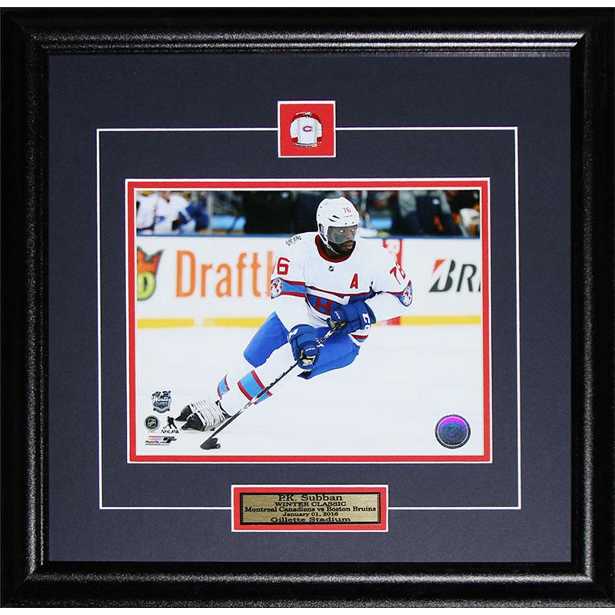 online store 247fe a42cd PK Subban Montreal Canadiens 2016 Winter Classic 8x10 NHL ...