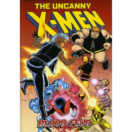 The Uncanny X-Men: Blood Feud - Uncanny X-men Covers