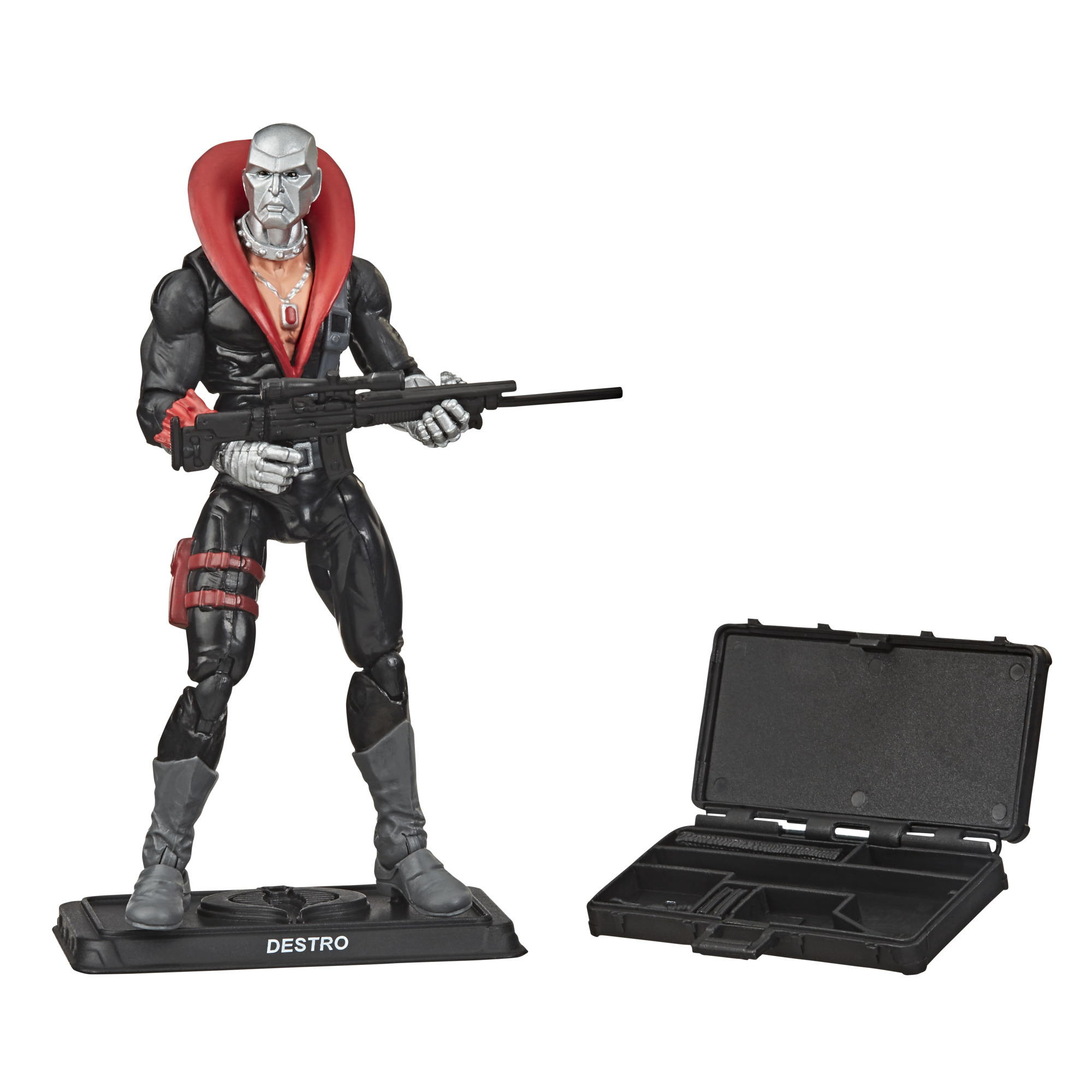 G.I. Joe Retro Collection Destro Collectible Action Figure