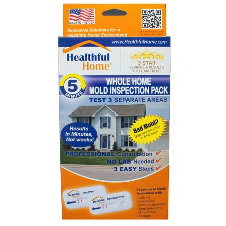 Healthful Home Whole Home Mold Inspection Pack - Tests 3 Separate