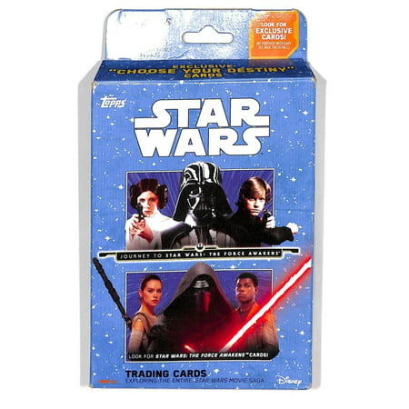 Topps Star Wars - Journey to Star Wars: The Force Awakens - 16 Card Trading Card Hanger Box