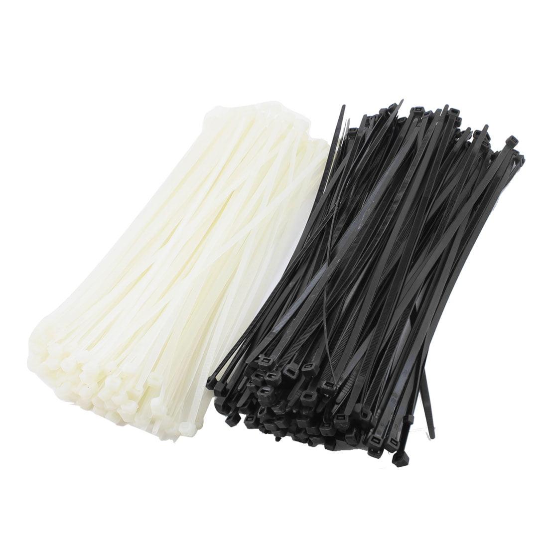 Unique Bargains 350 x Replacing 300mm x 8mm Cable Tie Bundle Nylon ...