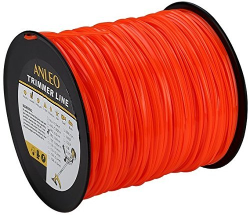 Grass Trimmer Line 5-Pound 095-Inch-by-896-Foot Spool Home Owner Graden Square Orange for... by anleolife