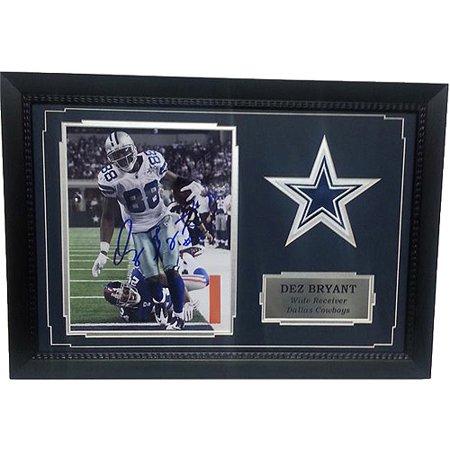 Nfl 11x14 Autograph Frame Dez Bryant Dallas Cowboys